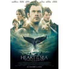 HEART OF THE SEA - LE ORIGINI DI MOBY DICK |blu-ray|