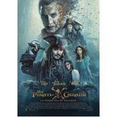 PIRATI DEI CARAIBI La Vendetta di Salazar |dvd|