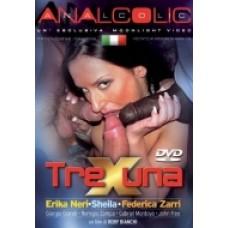 TRE X UNA |dvd hard usato|