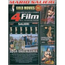 4 Film In 1 Dvd: Fuga Dall'albania, Vampira...