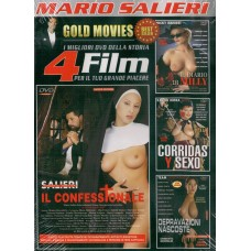 4 Film In 1 Dvd: IL CONFESSIONALE, IL DIARIO DI MILLY...