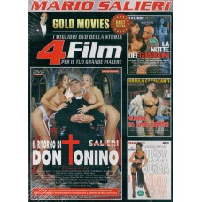 4 Film In 1 Dvd: IL RITORNO DI DON TONINO, LA NOTTE DEI GUARDONI...