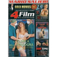 4 Film In 1 Dvd: LA CLINICA DELLA VERGOGNA, LA MOGLIE DEL PROFESSORE…
