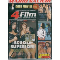 4 Film In 1 Dvd: Scuole Superiori, Hot Team 9…