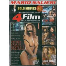 4 Film In 1 Dvd: STUPRI BESTIALI, COCAIN…