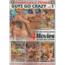 GUYS GO CRAZY VOL. 1 [4 dvd]