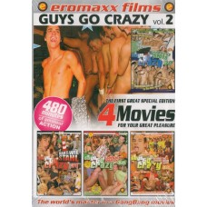 GUYS GO CRAZY VOL. 2 [4 dvd]