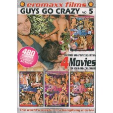 GUYS GO CRAZY VOL. 4 [4 dvd]