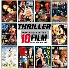 THRILLER - COFANETTO DA 10 DVD
