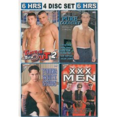 WHITE GAY 4 [4 dvd Bacchus]