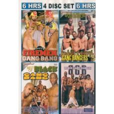 GANG BANG 4 [4 dvd Bacchus]