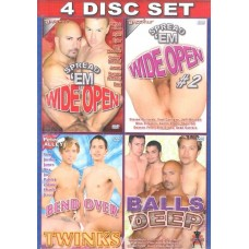 OPEN WIDE CUMMING IN [4 dvd Bacchus]