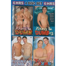 YOUNG DUMB & READY TO FUCK [4 dvd Bacchus]