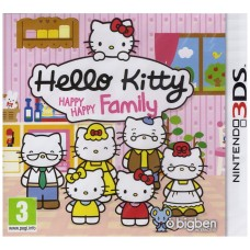 Hello Kitty Happy Happy Family |Nintendo 3DS|