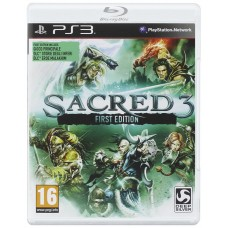 SACRED 3 FIRST EDITION |PS3|