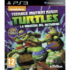 TEENAGE MUTANT NINJA TURTLES LA MINACCIA DEL MUTAGENO |PS3|