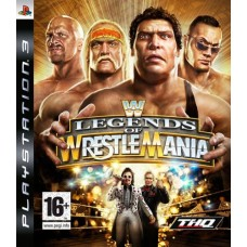 WWE LEGENDS OF WRESTLEMANIA |PS3|